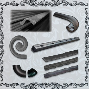 Steel, Handrail & Hammered bars