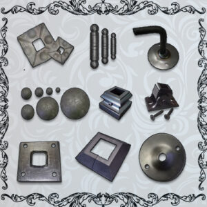 Plates, Hinges, Balls & Knobs
